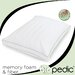 BioPEDIC Duo Comfort Deluxe Memory Foam and Fiber Pillow