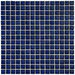 "<strong>Cobalt 5/8"" x 5/8"" Glazed Porcelain Square Mosaic in Cobalt</strong> by EliteTile"