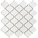 "Beacon 12-1/2"" x 12-1/2"" Glazed Porcelain Mosaic in White"