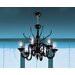 <strong>Belzebu 6 Light Chandelier</strong> by Leucos