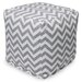 Majestic Home Products Chevron Small Cube