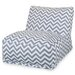 Majestic Home Products Chevron Bean Bag Lounger