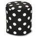 <strong>Polka Dot Small Pouf</strong> by Majestic Home Products