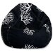 <strong>Coral Bean Bag Chair</strong> by Majestic Home Products