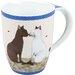 <strong>11 oz. Cat Couple Mug (Set of 4)</strong> by Konitz