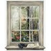 <strong>York Wallcoverings</strong> Mural Portfolio II Bird Watching Trompe L'Oiel Window Accent Wall Decal