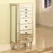 Powell Furniture Jewelry Armoire with Mirror