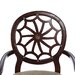 Powell Furniture Classic Seating Spider Web Fabric Arm Chair
