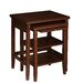 Powell Furniture Shelburne 2 Piece Nesting Tables