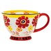 Signature Housewares Flower Power 14 oz. Mug