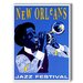<strong>New Orleans Jazz Festival Graphic Art on Canvas</strong> by Americanflat