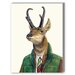 <strong>Pronghorn Graphic Art on Canvas</strong> by Americanflat