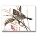 Yuhina Bird Painting Print on Canvas by Americanflat