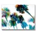Americanflat Trees Painting Print on Canvas