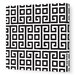 <strong>Pattern Squares Stretched Canvas Art</strong> by Avalisa