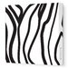<strong>Avalisa</strong> Pattern Zebra Stripes Stretched Canvas Art