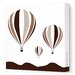 <strong>Avalisa</strong> Things That Go Hot Air Balloons Stretched Canvas Art