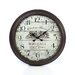"Aspire Oversized 28"" Bordeaux Vintage Style Wall Clock"