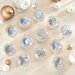 <strong>Roman, Inc.</strong> 12 Piece Glass Wedding Ornament Set