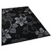 <strong>Modena Black/Grey Budget Rug</strong> by Think Rugs