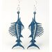 <strong>Swordfish Earrings</strong> by Green Tree Jewelry