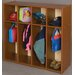 <strong>Vos System 4 Section Single Sided Toddler Locker</strong> by TotMate