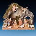 12 Piece Figurine Set with Italian Stable