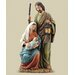 Slim Profile Holy Family Figurine