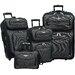 Traveler's Choice Amsterdam 4 Piece Luggage Set
