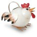 October Hill Hen Watering Can