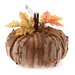 <strong>Autumn Accent Bark Pumpkin Figurine</strong> by October Hill