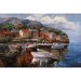 At Sea by Joval, Canvas Art - 48&quot; x 36&quot;