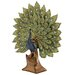 <strong>Woodland Imports</strong> Peacock Decor Figurine