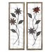 <strong>2 Piece Floral Wall Décor Set</strong> by Woodland Imports