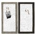 Woodland Imports 2 Piece Wall Décor Set