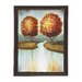 <strong>The Fiery Wood Framed Painting Print on Canvas</strong> by Woodland Imports