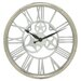 """<strong>American Engrail 21"""" Wall Clock</strong> by Woodland Imports"""