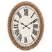 <strong>Fascinating Wood Rowall Clock</strong> by Woodland Imports
