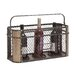 Classic Irish 3 Bottle Tabletop Wine Rack