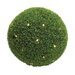 Super Plastic LED Grass Ball with Leaf Patterns