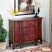 Artist's Originals Console Cabinet in Red