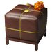 <strong>Modern Expressions Leather Cube Ottoman</strong> by Butler