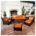 <strong>Tikka 8 Piece Deep Seating Group with Cushions</strong> by RST Outdoor