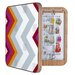 <strong>DENY Designs</strong> Karen Harris Modernity Solstice Warm Chevron Jewelry Box