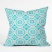 <strong>Elisabeth Fredriksson Crystal Flowers Throw Pillow</strong> by DENY Designs