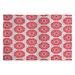 DENY Designs Caroline Okun Splendid Red Area Rug
