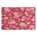 <strong>Lisa Argyropoulos Blossoms on Coral Rug</strong> by DENY Designs