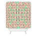DENY Designs Caleb Troy Holiday Tone Shards Woven Polyester Shower Curtain
