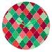 DENY Designs Jacqueline Maldonado Morocco Christmas Wall Clock