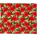 DENY Designs Aimee St Hill Poinsettia Plush Fleece Throw Blanket